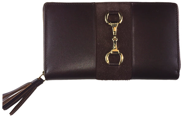 Grays Wallet Gold Collection Brown
