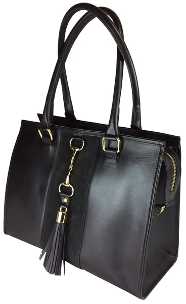 Grays Black Gold Collection Bag with Tassel