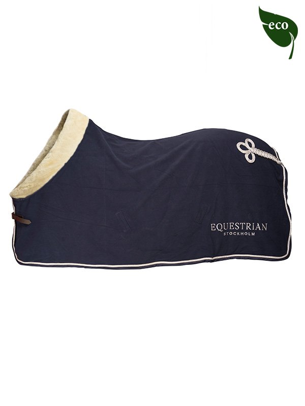 ES Fleece Rug Navy