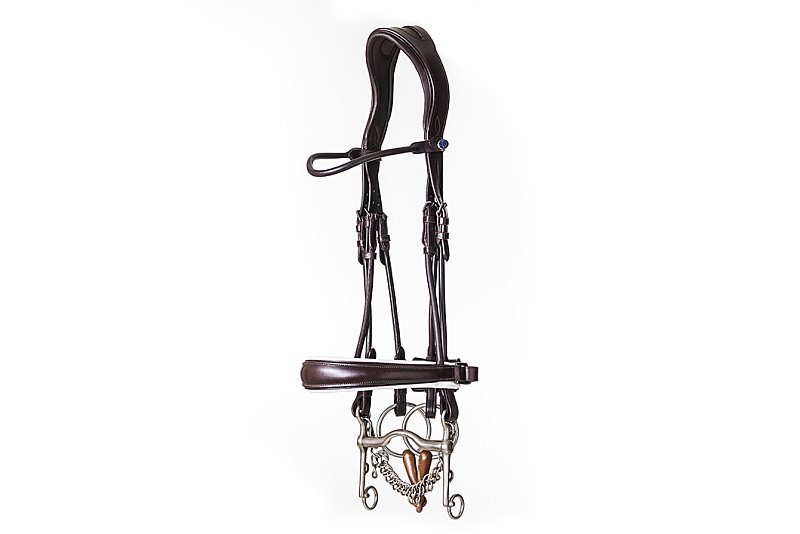 PS of Sweden Brown GP Bridle With Brown or White Padding