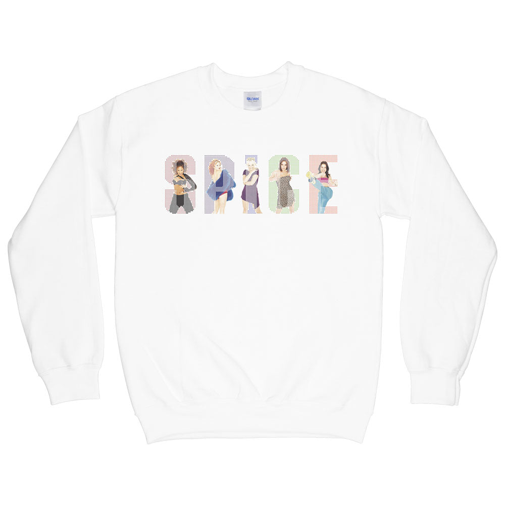 Spice Logo White Sweater