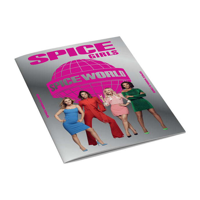 Spice Girls tour programme