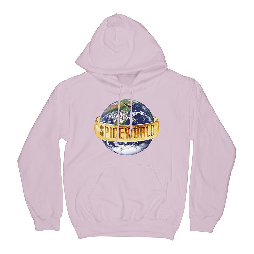 Spice World Kids Pink Hooded Sweatshirt