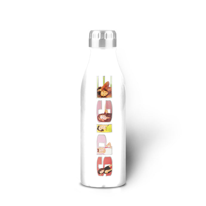 SPICE Logo White Water Bottle