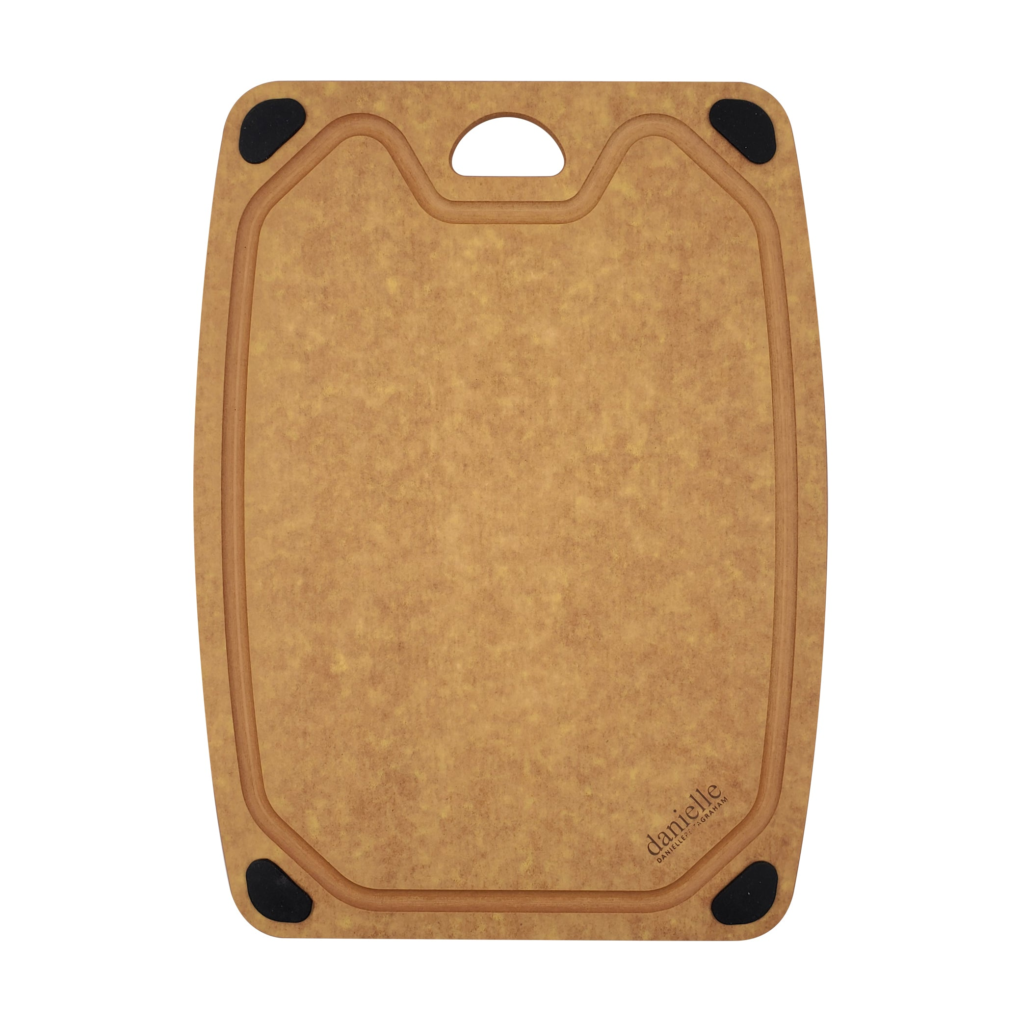 Essential Natural Wood Fibre Cutting Board (M size: W27.5cm x H37cm x D0.6cm)