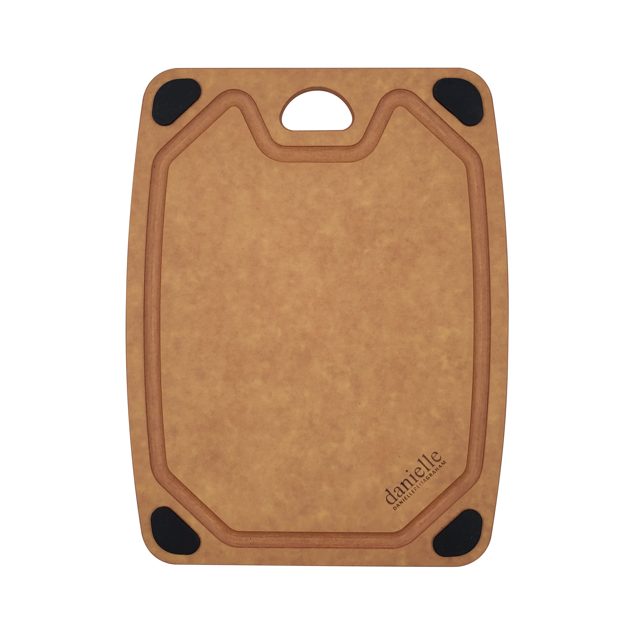 Essential Natural Wood Fibre Cutting Board (S size: W23.5cm x H29.8cm x D0.6cm)