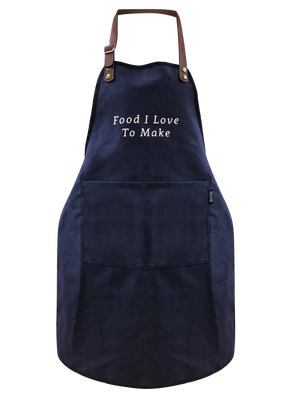 Essential Kid's Apron(Free Size)- Embroidery