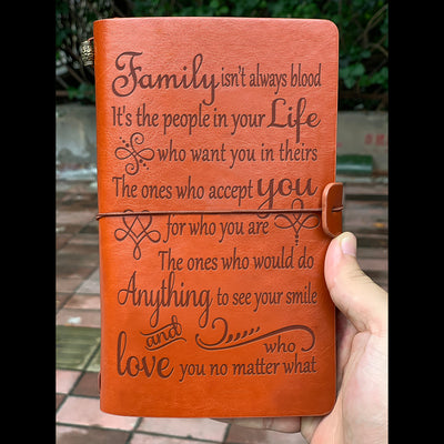 FAMILY - VINTAGE JOURNAL