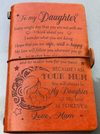 DAUGHTER MUM - I WILL FOLLOW YOU - VINTAGE JOURNAL