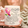 Daughter Mom - Keep Smiling - Coffee Mug