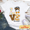 Love Grandma Life - Personalized Custom Women's T-shirt - Mother's Day Gifts For Grandmas
