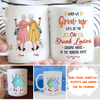 Old Drunk Lady - Personalized Custom Coffee Mug - Gifts For Best Friend