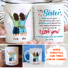 Our Bond - Personalized Custom Coffee Mug - Sister Gifts