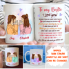 Need You Till The End - Personalized Custom Coffee Mug, Best Friend Mugs
