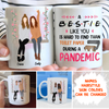 A Hard-To-Find Friend - Personalized Custom Coffee Mug