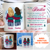 Lucky To Have You - Personalized Custom Coffee Mug - Gifts For Bestie