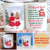 Christmas Bestie - Personalized Custom Coffee Mug - Sentimental Gifts For Best Friends
