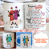 'Til We're Old And Bonkers - Personalized Custom Coffee Mug, Mug For Best Friend