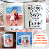 Friend Of Heart - Personalized Custom Coffee Mug - Bestie Gifts, BFF Gifts