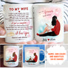 I Feel So Complete- Personalized Custom Coffee Mug - Husband Wife Gift