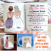 New Sisters, Forever Friends - Personalized Custom Coffee Mug - Gifts For Sister-in-law