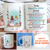 Sister Bond - Personalized Custom Coffee Mug - Gifts For Sisters