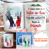Chance made us sister-in-law - Personalized custom coffee mug - Sentimental gifts for sister-in-law