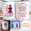 A Lovely Daughter-In-Law - Personalized Custom Coffee Mug