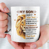 Proud Of Yourself  - Premium Coffee Mug - Mugs For Son, Gifts For Son