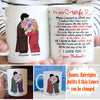 When I Started to Love You - Personalized Custom Coffee Mug - Valentine Gifts For Wife