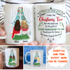 The Gift Of Friendship - Personalized Custom Coffee Mug - Christmas Gifts For Besties
