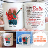 Wonderful Bestie - Personalized Custom Coffee Mug