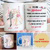 Thanks For Being My Husband - Personalized Custom Mug - Gifts For Husband