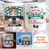 With My Bestie - Personalized Custom Coffee Mug - Christmas Gifts For Besties