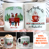 Hot Chocolate And Marshmallows - Personalized Custom Coffee Mug