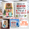 The Only Gift You Need - Personalized Custom Coffee Mug - Christmas Gifts