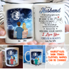 Never stop holding your hands - Personalized Custom Coffee Mug - Gifts For Husband