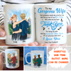 The Wonderful Future Mom - Personalized Custom Mug - Gifts for Mom To Be From Husband