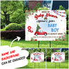 Baby Shower - Personalized Custom Yard Sign - Christmas Yard Sign