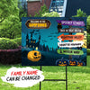 Personalized Custom Yard Sign - Halloween Outdoor Decorations