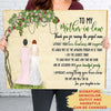 I Am The Luckiest Bride - Personalized Custom Canvas - Gifts For Mother-in-law