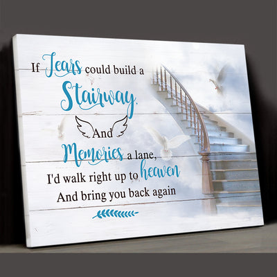 Bring You Home - Personalized Custom Matte Canvas, Memorial Gifts