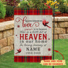 Someone we love - Personalized custom garden flag - Christmas outdoor decorations