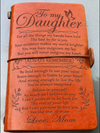 DAUGHTER MOM - BELIEVE IN YOURSELF - VINTAGE JOURNAL