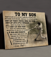 Hit It Hard - Premium Matte Canvas - Gifts For Sons