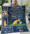 Blanket for Dogs and Puppies - Don't Call Me Dog, My Mom Calls Me Baby - Blanket with quotes - 7130