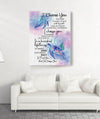 I choose you - Matte canvas - Home Decorations
