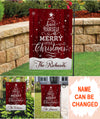 Have yourself a merry little Christmas - Personalized custom garden flag - Christmas decorations
