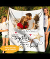 A Life We Loved - Personalized Custom Fleece Blanket