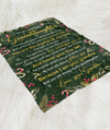 My love will always follow you - Fleece blanket - Christmas gifts